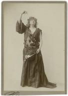 Helena Modjeska in the role of Ophelia.