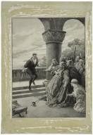 Sir Johnston Forbes-Robertson as Hamlet.