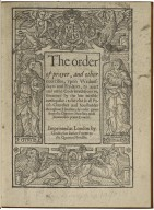 [Liturgies. Special forms of prayer (General, 1580)]