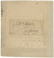 Letter from Charles Stanhope to Jacob Tonson I : autograph manuscript signed