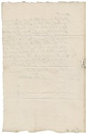Letter from Major-General John Desborough, London, to Colonel Robert Bennet
