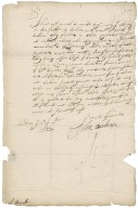 Letter from Major-General Desborough, London, to Colonel Robert Bennet