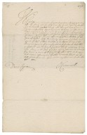 Commission signed by Oliver Cromwell : true copy