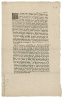 The Earl of Nottingham's case : printed circular