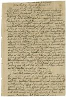 Copy in the hand of Edmund Spenser of a letter [manuscript]: Monte Pesantano, to Erasmus Neustetter ...