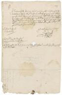 Letter from Samuel Kekewich (Kekwich), Liskeard, to Colonel Robert Bennet, Hexworthy