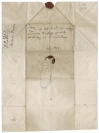 Letter from J. Rattray to Patrick Rattray of Craighall, Bergues in France