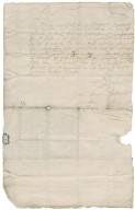 Letter from Erskine of Dun to Patrick Rattray of Craighall, Dun