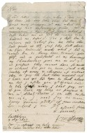 Letter from Earl of Kinghorne to Patrick Rattray of Craighall, Castle Lyon