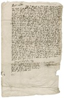 Letter from David Drummond to Patrick Rattray of Craighall, Cargill