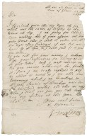 """Letter from Earl of Kinghorne to Patrick Rattray of Craighall, """"At ane ale house in the Town of Glams"""""""