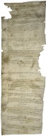 Compotus roll for the Manor of Mulbarton, Norfolk