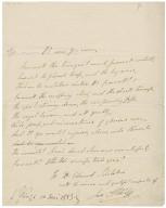 [Othello. Act 3. Scene 3. Fragment] Lines from act III, scene iii of Othello by William Shakespeare, in the autograph of Ira Aldridge