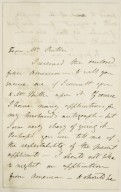 Autograph letters signed from Mary Wollstonecraft Shelley, Isle of Wight and London, to [Frances Anne] Kemble [manuscript], ca. 1842.
