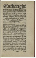 A fruteful, and pleasaunt worke of the beste state of a publyque weale, and of the newe yle called Vtopia: written in Latine by Syr Thomas More knyght, and translated into Englyshe by Raphe Robynson citizein and goldsmythe of London, at the procurement, and earnest request of George Tadlowe citezein [and] haberdassher of the same citie.