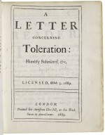 [Epistola de tolerantia. English] A letter concerning toleration: humbly submitted, &c. Licensed, Octob. 3. 1689.