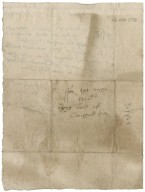 Letter from J. Ruthven to David Rattray of Craighall, Ruthven