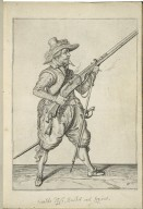 [Wapen-handelinghe van roers, musquetten, en spiessen. English] The exercise of armes for caliures, muskettes, and pikes After the ordre of his Excellence. Maurits Prince of Orange Counte of Nassau etc. gouernour and captaine generall. ouer Geldreland. Holland, Zeeland, Vtrecht. Overyssel. etc. Sett forthe in figures. by Iacob de Gheyn. With written instructions. for the service of all captaines and comaundours. For to shewe hereout the better vnto their jong or vntrayned souldiers the playne and perfett maner to handle these armes.