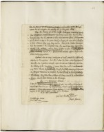 Autograph letter signed (draft) from Joseph Greene to James West [manuscript], 1770 June 30.