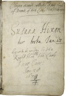 Choyce receits collected [out] of the book of receits, of the Lady Vere Wilkinson [manuscript] / begun to be written by the Right Honble the Lady Anne Carr, Jan. 28 1673/4.