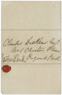 Autograph letters signed from George Cruikshank to various recipients [manuscript], 1847-1867.