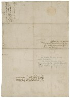 Letter of command signed from Elizabeth I, Queen of England, to Sir Henry Sidney, Lord Deputy of Ireland