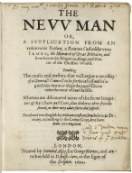The nevv man or, A supplication from an vnknowne person, ...