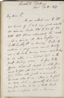Autograph letters to Clement Mansfield Ingleby signed from various correspondents [manuscript], 1853-1878.
