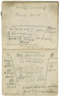 Stage-lighting guide for Sothern and Marlowe productions of Twelfth night, Taming of the shrew, Hamlet, Merchant of Venice, and Romeo and Juliet [manuscript]