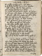 Collection of poems, possibly compiled by a person connected with Oxford [manuscript], ca. 1640-ca. 1660.