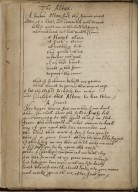 Poetical miscellany [manuscript], ca. 1650.