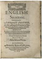 The English secretorie.