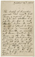 Autograph letters signed and unsigned from Elizabeth Cavendish, Duchess of Devonshire, London, to Edmund Kean [manuscript]