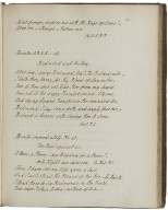 Autograph manuscript of Kemble's parts in 34 plays in the hand of John Philip Kemble [manuscript], 1783-1805.