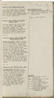 Richard III shooting script [manuscript], 1954 July 19.