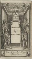 The Psalmes of King David translated by King Iames Cum privilegio Regiæ Maiestatis.