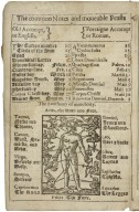Browne. 1630. A new almanacke and prognostication, for the yeare of our Lord God 1630. Being the second after leape yeere. Composed and properly referred to the longitude and latitude of the pole artick of that famous city of London, and may serue general