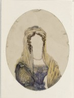 [Small notebook containing 25 half-length oval paintings of Fanny Kemble as Beatrice, Juliet, Portia, etc.] [graphic].