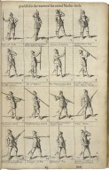 The principles of the art militarie; practised in the vvarres of the Vnited Netherlands. Represented by figure, the vvord of command, and demonstration. Composed by Henry Hexham quarter-master to the regiment of the Honourable Coronell Goring.