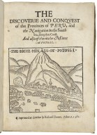[Historia del descubrimiento y conquista del Peru. English] The discouerie and conquest of the prouinces of Peru, and the nauigation in the South Sea, along that coast. And also of the ritche mines of Potosi.