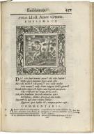 ... Emblemata cum commentariis Claudii Minois ...