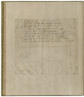 The massacre at Paris (fragment) [manuscript], ca. 1590.
