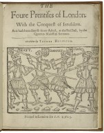 The foure prentises of London. VVith the conquest of Ierusalem. As it hath bene diuerse times acted, at the Red Bull, by the Queenes Maiesties Seruants. Written by Thomas Heyvvood.