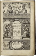 A collection of some modern epistles of Monsieur de Balzac. Carefully translated out of French. Being the fourth and last volume.
