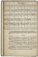 A plaine and easie introduction to practicall musicke, set downe in forme of a dialogue: deuided into three partes, the first teacheth to sing with all things necessary for the knowledge of pricktsong. ...