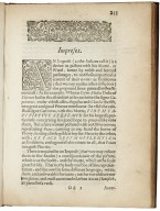 Remaines, concerning Britaine: but especially England, and the inhabitants thereof. Their languages. Names. Surnames. Allusions. Anagrammes. Armories. Monies. Empreses. Apparell. Artillarie. Wise speeches. Prouerbs. Poesies. Epitaphes. Reviewed, corrected, and encreased.