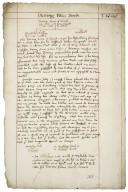 History of the Dering family from the time of the Conquest [manuscript], ca. 1635.
