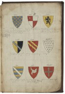 An English baronage [manuscript], 1586