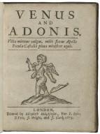 Venus and Adonis.
