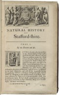 The natural history of Stafford-shire.